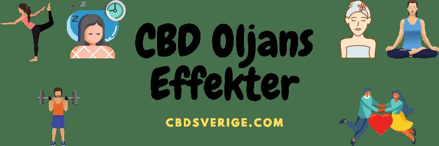 cbd olja effekt