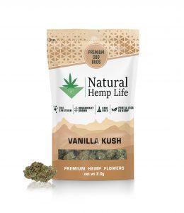 Vanilla Kush Premium CBD Buds